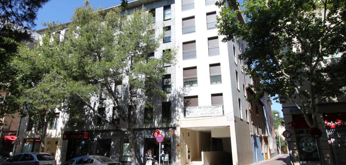 Edificio Tio jorge Zaragoza fachada slider